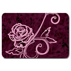 Rose Large Door Mat