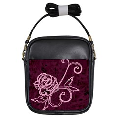 Rose Girl s Sling Bag