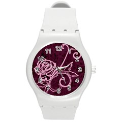 Rose Plastic Sport Watch (medium)