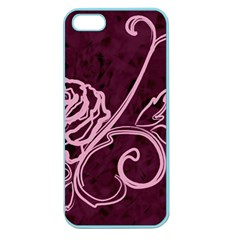 Rose Apple Seamless iPhone 5 Case (Color)