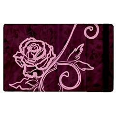 Rose Apple iPad 3/4 Flip Case