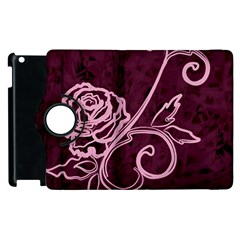 Rose Apple Ipad 3/4 Flip 360 Case