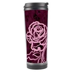 Rose Travel Tumbler