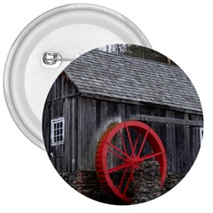 Vermont Christmas Barn 3  Button