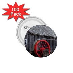 Vermont Christmas Barn 1.75  Button (100 pack)