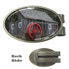 Vermont Christmas Barn Money Clip (Oval)