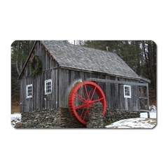 Vermont Christmas Barn Magnet (rectangular)