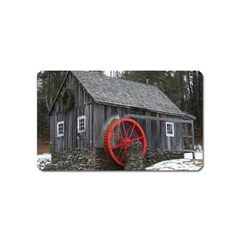 Vermont Christmas Barn Magnet (Name Card)