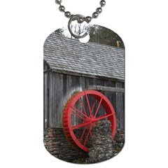Vermont Christmas Barn Dog Tag (One Sided)