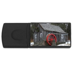 Vermont Christmas Barn 2GB USB Flash Drive (Rectangle)