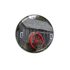 Vermont Christmas Barn Golf Ball Marker (for Hat Clip)