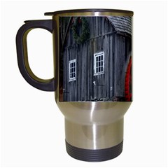 Vermont Christmas Barn Travel Mug (White)