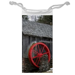 Vermont Christmas Barn Jewelry Bag