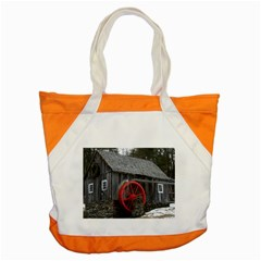 Vermont Christmas Barn Accent Tote Bag