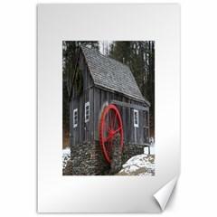 Vermont Christmas Barn Canvas 12  x 18  (Unframed)