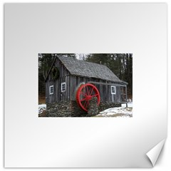 Vermont Christmas Barn Canvas 20  x 20  (Unframed)