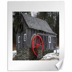 Vermont Christmas Barn Canvas 11  x 14  (Unframed)