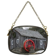 Vermont Christmas Barn Chain Purse (One Side)