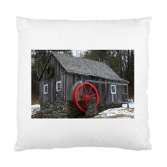 Vermont Christmas Barn Cushion Case (Single Sided)