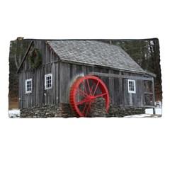 Vermont Christmas Barn Pencil Case