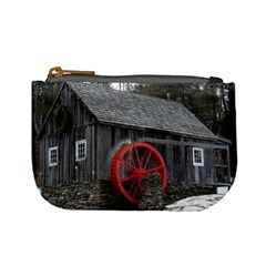 Vermont Christmas Barn Coin Change Purse