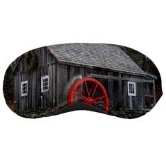 Vermont Christmas Barn Sleeping Mask