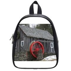 Vermont Christmas Barn School Bag (Small)