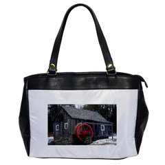 Vermont Christmas Barn Oversize Office Handbag (one Side)