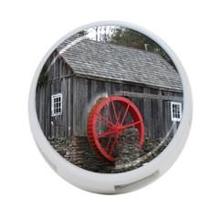 Vermont Christmas Barn 4 Port Usb Hub (two Sides)