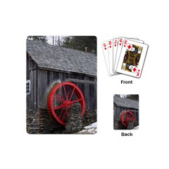 Vermont Christmas Barn Playing Cards (Mini)