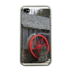 Vermont Christmas Barn Apple iPhone 4 Case (Clear)