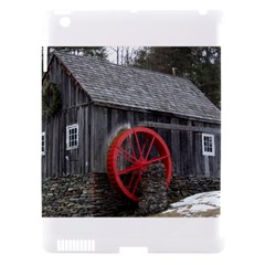 Vermont Christmas Barn Apple Ipad 3/4 Hardshell Case (compatible With Smart Cover)