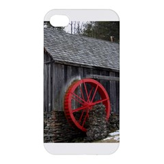 Vermont Christmas Barn Apple Iphone 4/4s Premium Hardshell Case