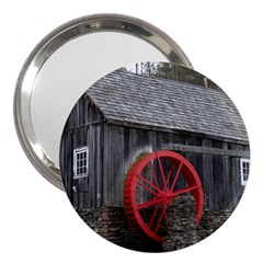 Vermont Christmas Barn 3  Handbag Mirror