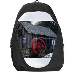 Vermont Christmas Barn Backpack Bag