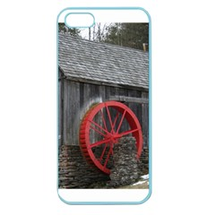 Vermont Christmas Barn Apple Seamless iPhone 5 Case (Color)