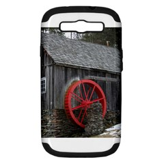 Vermont Christmas Barn Samsung Galaxy S III Hardshell Case (PC+Silicone)