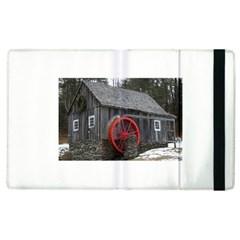 Vermont Christmas Barn Apple Ipad 3/4 Flip Case