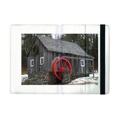 Vermont Christmas Barn Apple Ipad Mini Flip Case