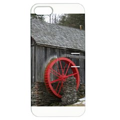 Vermont Christmas Barn Apple iPhone 5 Hardshell Case with Stand