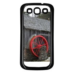 Vermont Christmas Barn Samsung Galaxy S3 Back Case (Black)