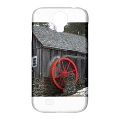 Vermont Christmas Barn Samsung Galaxy S4 Classic Hardshell Case (PC+Silicone)