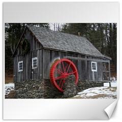 Vermont Christmas Barn Canvas 12  x 12  (Unframed)