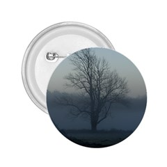Foggy Tree 2.25  Button