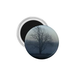 Foggy Tree 1.75  Button Magnet