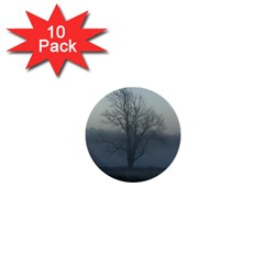 Foggy Tree 1  Mini Button (10 pack)