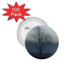 Foggy Tree 1.75  Button (100 pack)