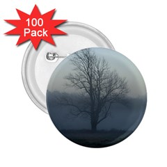 Foggy Tree 2.25  Button (100 pack)