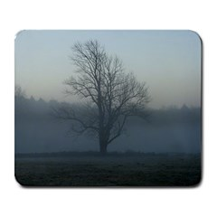 Foggy Tree Large Mouse Pad (rectangle)