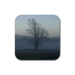 Foggy Tree Drink Coasters 4 Pack (Square)